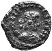 1 Nummus - Uncertain King (Carthage) – obverse