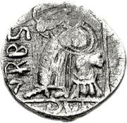 1 Siliqua - Genseric / In the name of Honorius, 393-423 (Carthage) – reverse