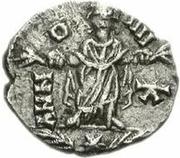 1 Siliqua - Huneric / In the name of Honorius, 393-423 (Carthage) – reverse