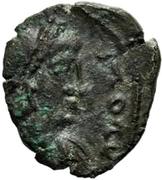 1 Nummus - Gunthamund (Carthage; backwards Chi Rho) – obverse