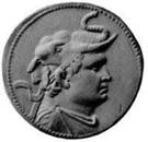 Tetradrachm - Demetrios I – obverse