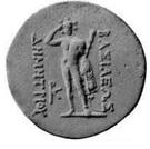Tetradrachm - Demetrios I – reverse