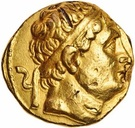 Stater - Diodotos I – obverse