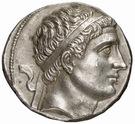 Tetradrachm - Diodotos II – obverse