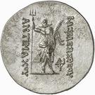 Tetradrachm - Antimachos I (Pushkalavati) – reverse