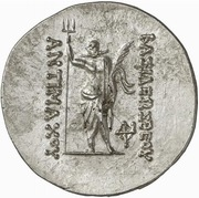 Tetradrachm - Antimachos I (Pushkalavati) – reverse