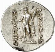 Tetradrachm - Euthydemos II – reverse