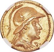 Stater - Eucratides I – obverse