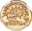 Stater - Eucratides I – reverse