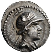 Obol - Eukratides I -  obverse