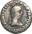 Drachm - Apollodotos II – obverse