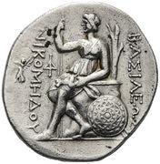 Tetradrachm - Nikomedes I – reverse