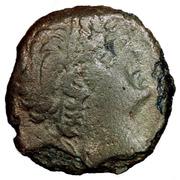 Bronze Æ 16 - Prusias II – obverse