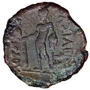 Bronze Æ 16 - Prusias II – reverse