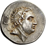 Tetradrachm - Prusias II Kynegos (Nikomedeia) – obverse