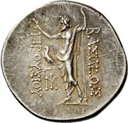 Tetradrachm - Prusias II Kynegos (Nikomedeia) – reverse