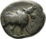 Bronze Æ16 - Ariarathes X – obverse