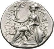 Drachm - Lysimachus – reverse