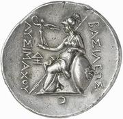 Tetradrachm -  Lysimachos (Lampsakos) – reverse