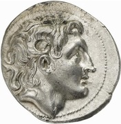 Tetradrachm -  Lysimachos (Amphipolis) – obverse