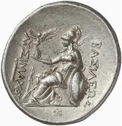 Tetradrachm -  Lysimachos (Pergamon) – reverse
