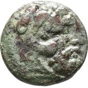 Bronze Æ18 - Adaios – obverse