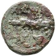 Bronze Æ18 - Adaios – reverse