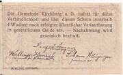 20 Heller (Kirchberg an der Donau) – reverse