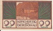 99 Heller (Kirchberg an der Donau) – obverse