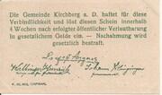 99 Heller (Kirchberg an der Donau) – reverse