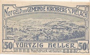 50 Heller (Kirchberg an der Pielach) – obverse