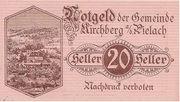 20 Heller (Kirchberg an der Pielach) – obverse