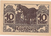 10 Heller (Kirchberg bei Linz) – obverse