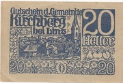 20 Heller (Kirchberg bei Linz) – obverse