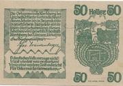 50 Heller (Kirchberg bei Linz) – reverse