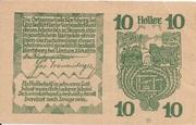 10 Heller (Kirchberg bei Linz) – reverse