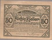 50 Heller (Kirchdorf am Inn) -  obverse