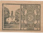 50 Heller (Kirchdorf am Inn) -  reverse