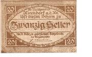 20 Heller (Kirchdorf an der Krems) – obverse