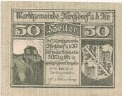 50 Heller (Kirchdorf an der Krems) – obverse