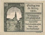 50 Heller (Kirchdorf an der Krems) – reverse