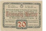 20 Heller (Kirchham) -  reverse