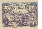 30 Heller (Kirchham) – obverse
