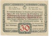 30 Heller (Kirchham) – reverse