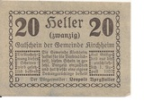 20 Heller (Kirchheim) -  obverse