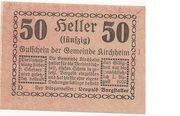 50 Heller (Kirchheim) -  obverse
