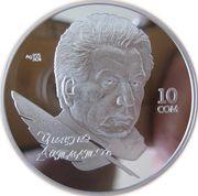 10 Som (Chingiz Aitmatov) – reverse