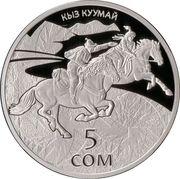 5 Som (Kyz Kuumay) – reverse
