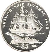 "5 Dollars (""Potomac"") – reverse"