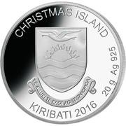 1 Dollar (Christmas Island; Rudolph) – obverse